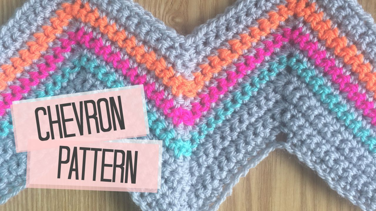 Crochet Stitches Bella Coco : This chevron pattern has to be one of my favorites! It has such an ...