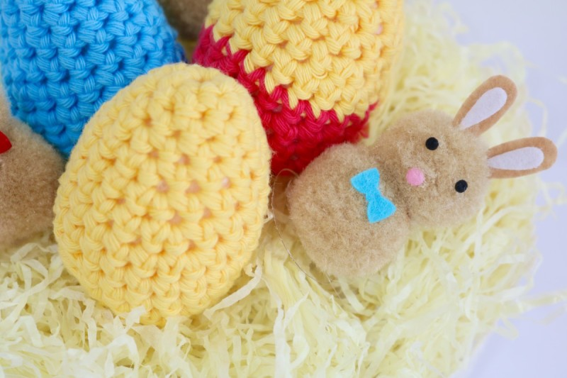 Crochet Stitches Bella Coco : Crochet Easter Egg pattern and Tutorial - Bella Coco by Sarah-Jayne