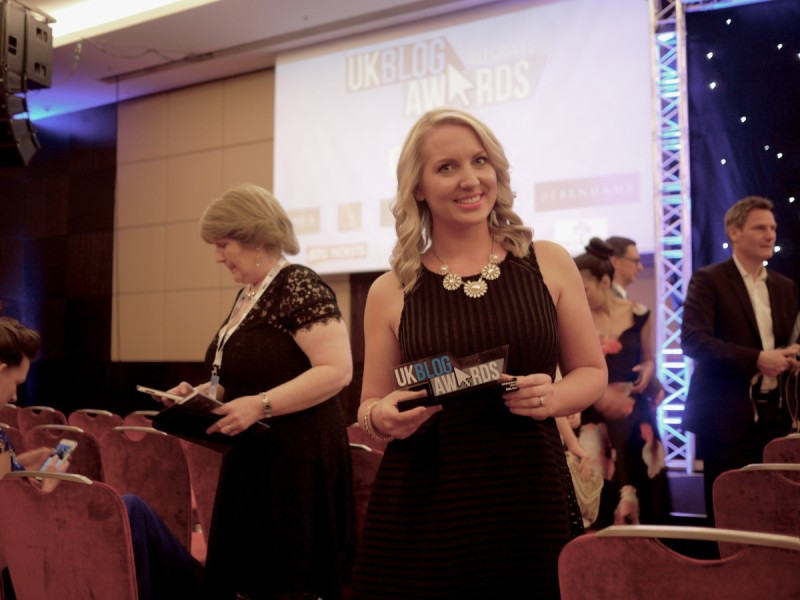 UK Blog Awards Lifestyle Winner