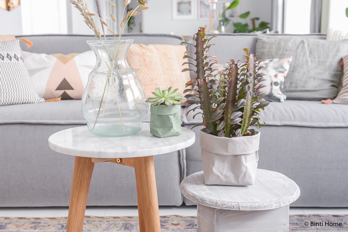 Using house plants for decor - Bella Coco by Sarah-Jayne