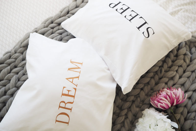 DIY Quote cushions